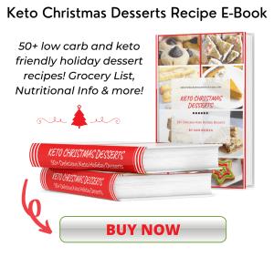 keto christmas desserts recipe e book
