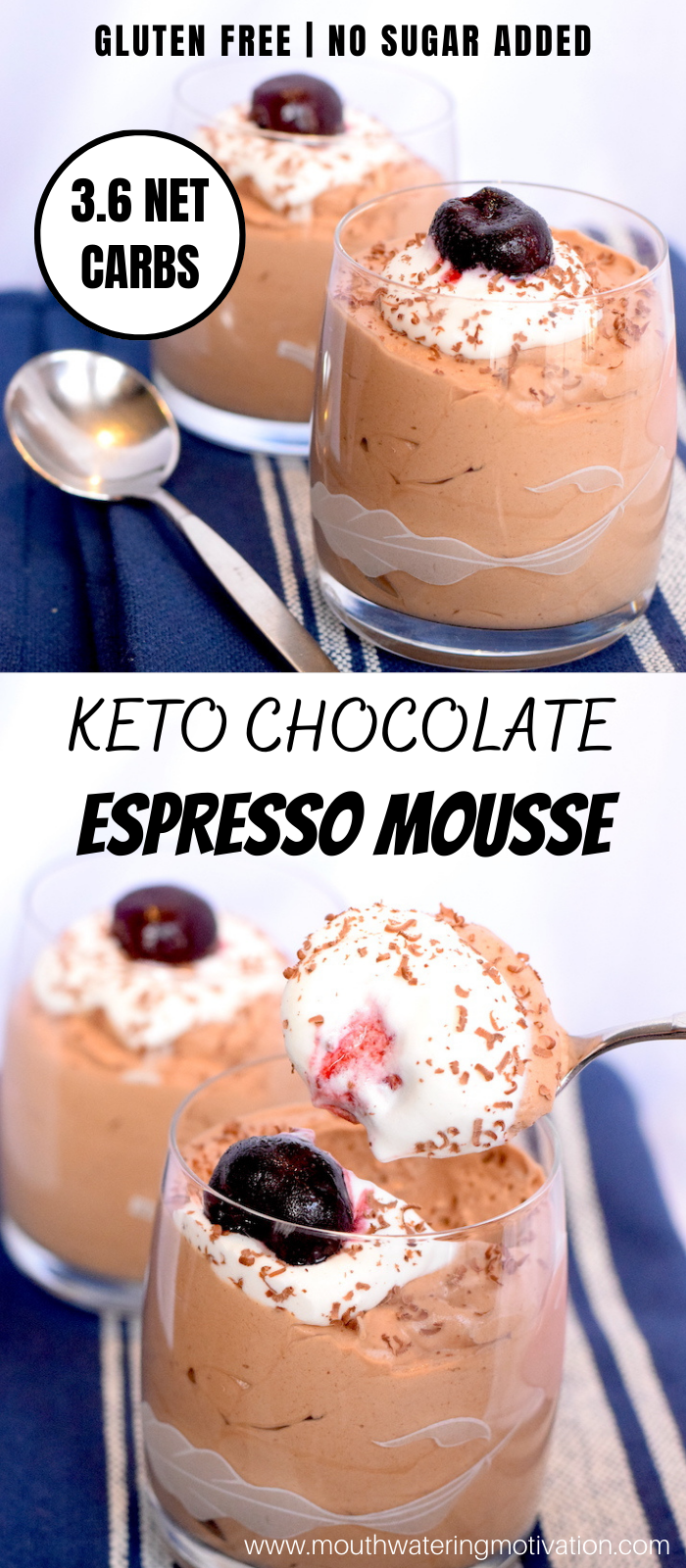 Keto Chocolate Espresso Mousse