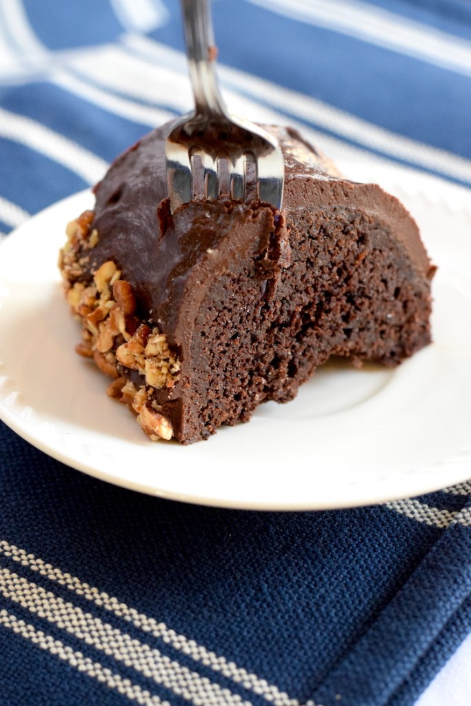 almond flour keto chocolate cake