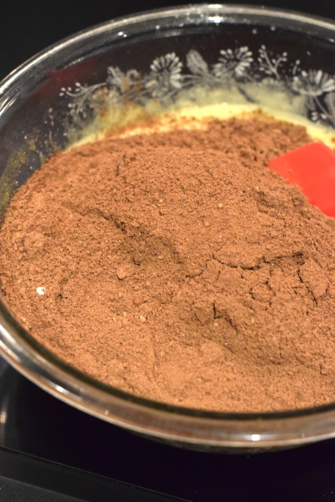 cocoa powder, almond flour, coconut flour