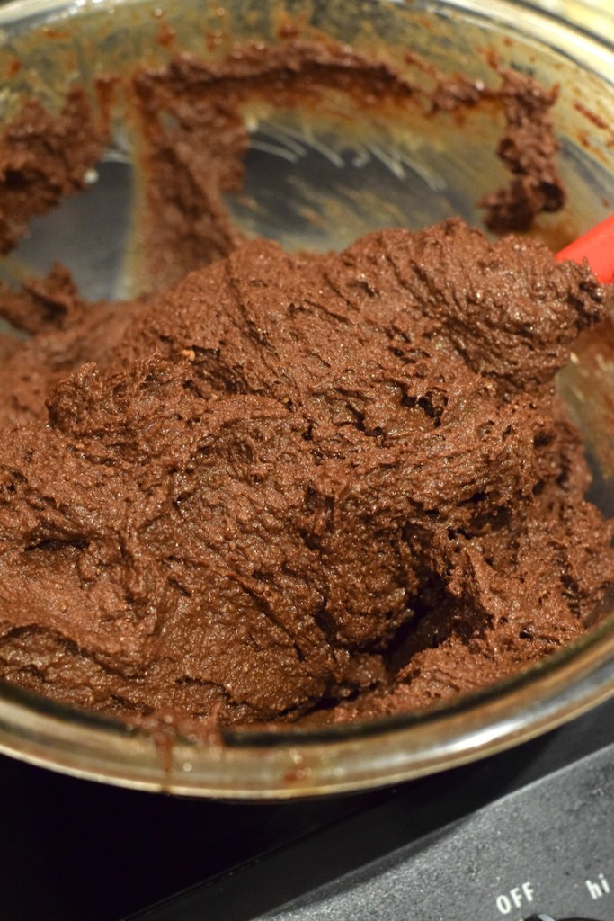 keto chocolate cake batter