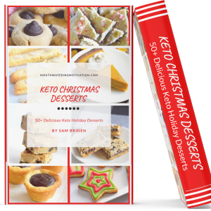 keto christmas desserts recipe book
