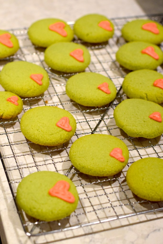 keto grinch cookies