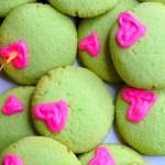 keto grinch sugar cookies