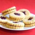 keto jam Christmas cookies