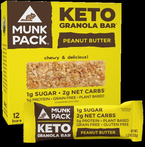 keto munk pack granola bar review