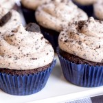 low carb cookies and cream cupcakes