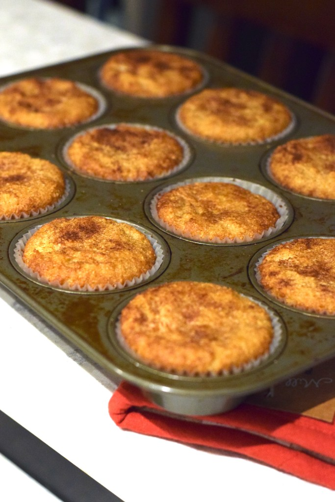 almond flour snickerdoodle muffins
