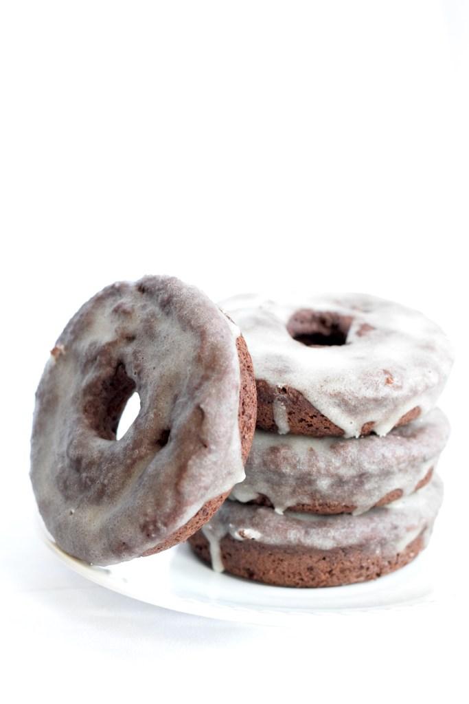 baked healthy chocolate donut recipe