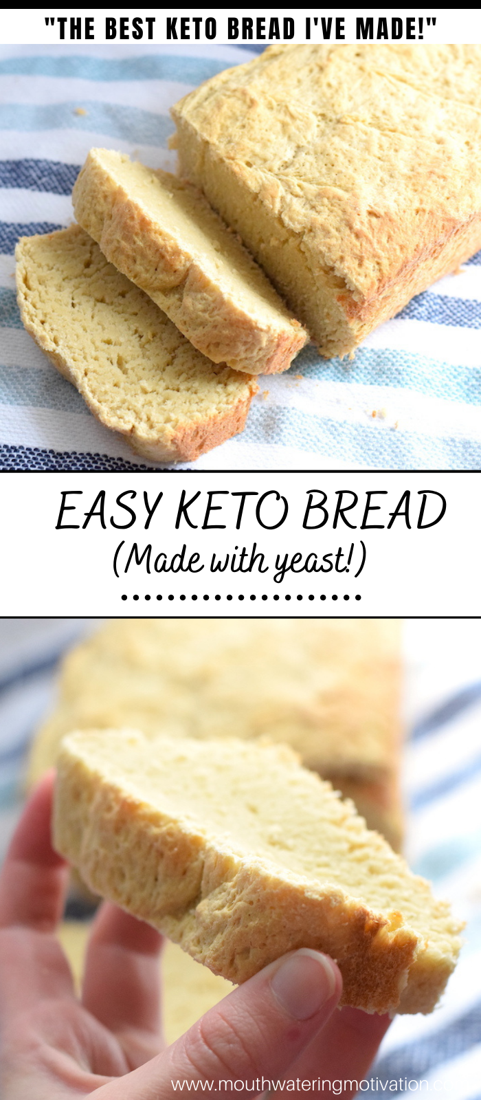 easy keto bread made with yeast