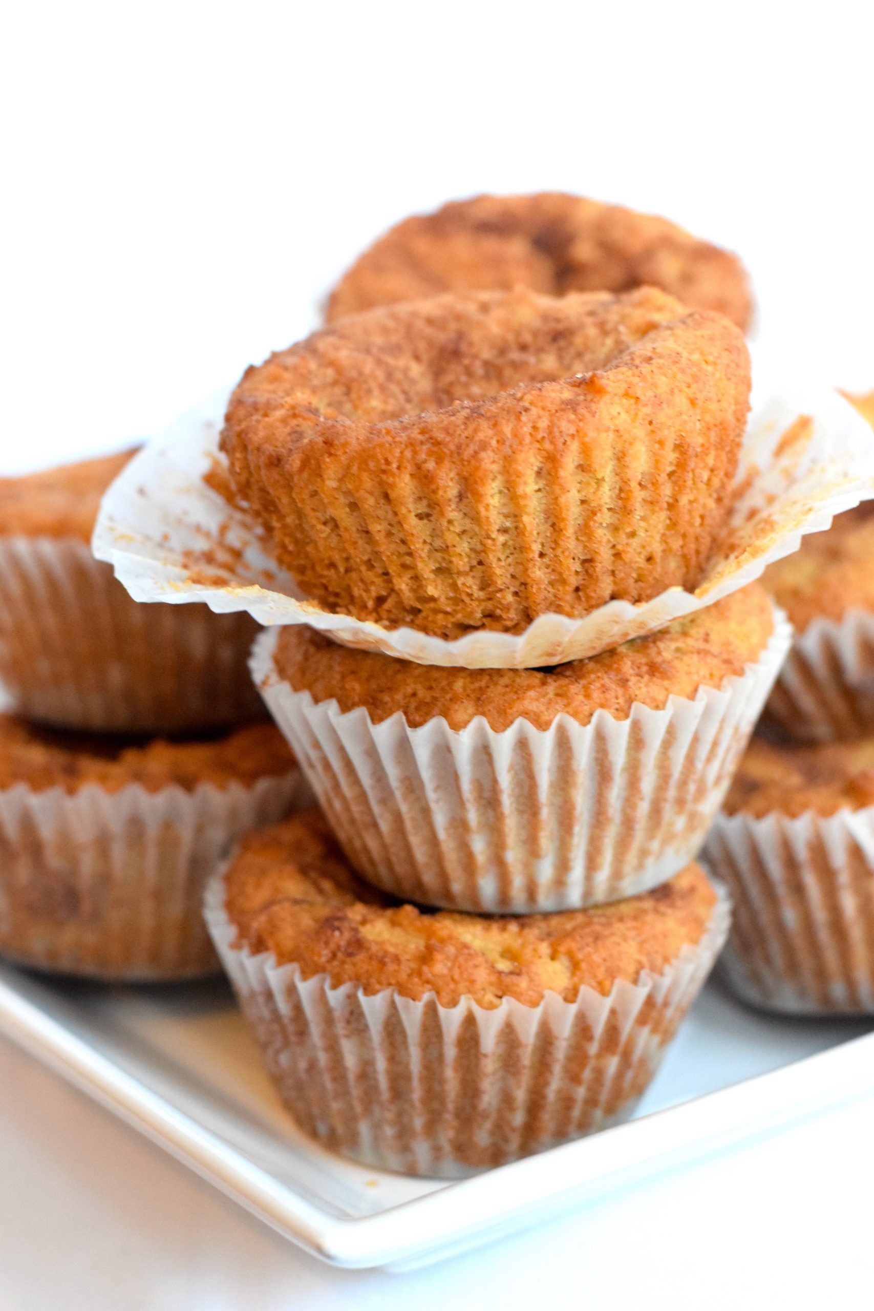 low carb cinnamon muffins