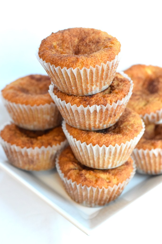 low carb keto snickerdoodle muffins