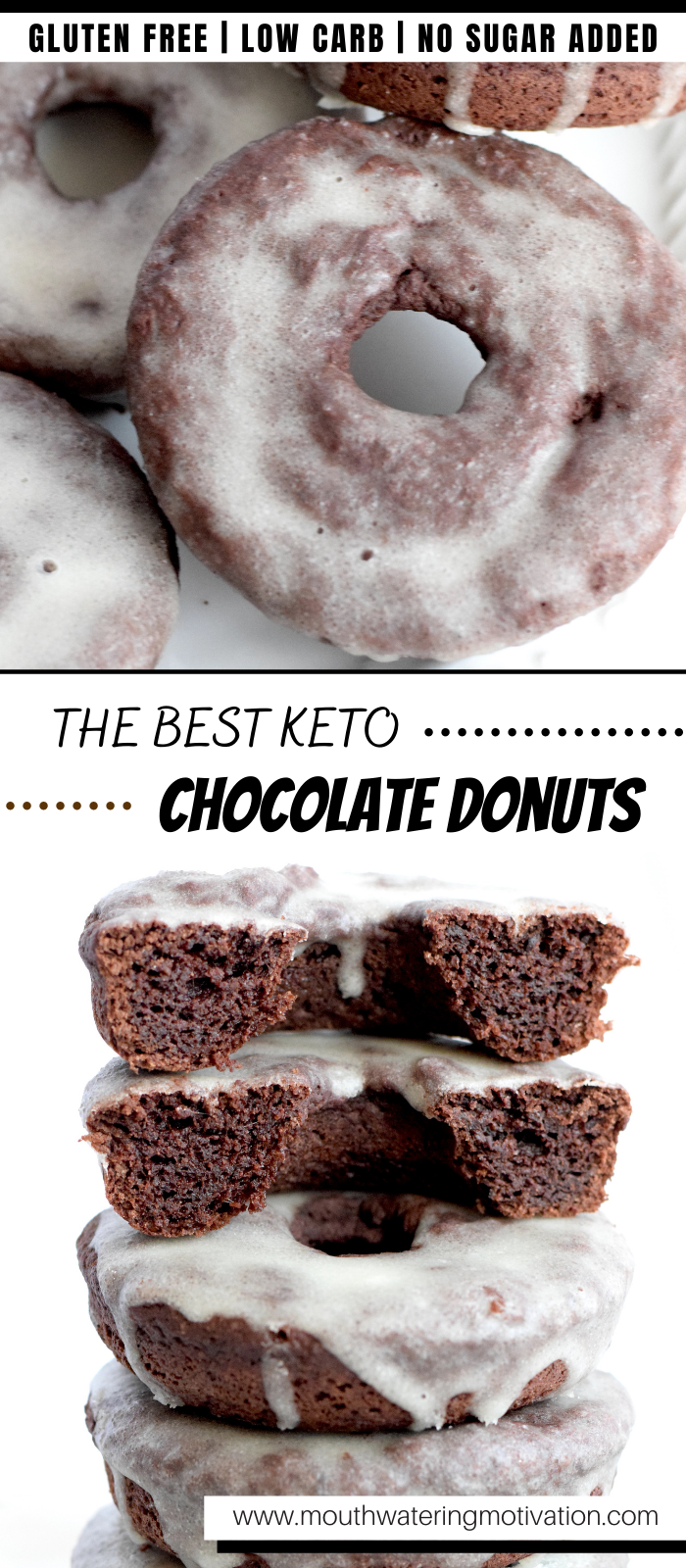 the best keto chocolate donuts