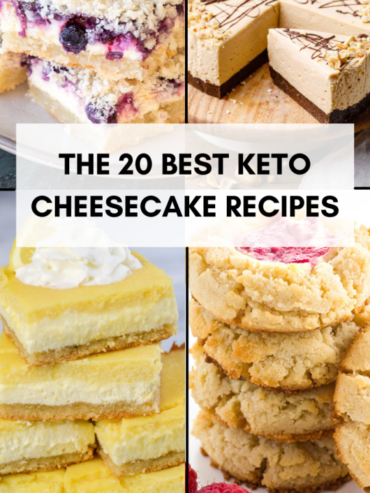 THE 20 best keto cheesecake recipes