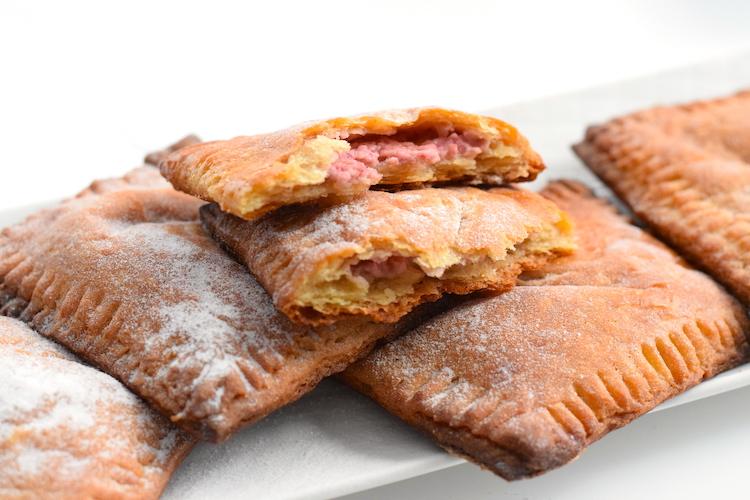 keto raspberry cream cheese puff pastry