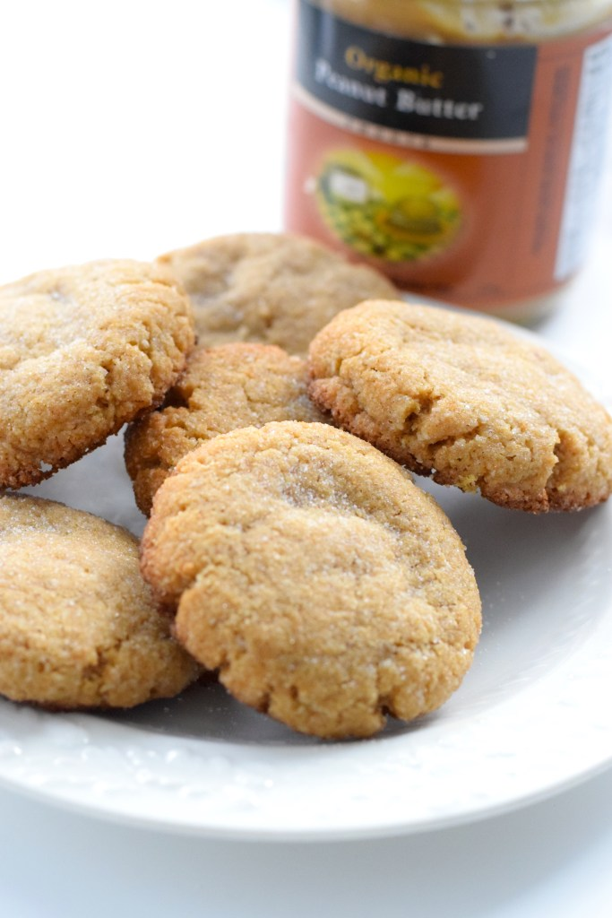 chewy keto peanut butter cookies