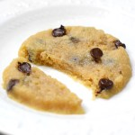 easy healthy chocolate chip cookie