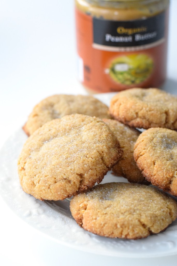 keto chewy peanut butter cookies