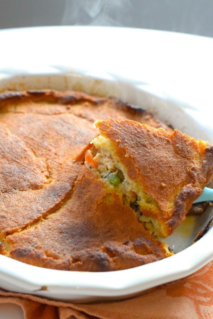 keto chicken pot pie with crust