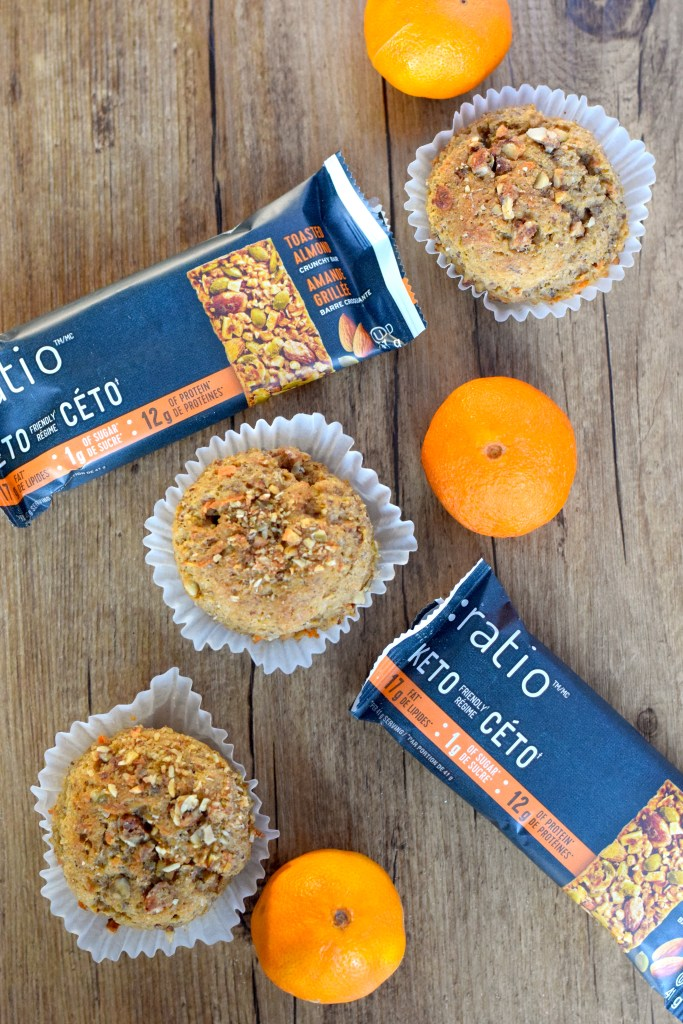 keto coconut flour carrot muffins