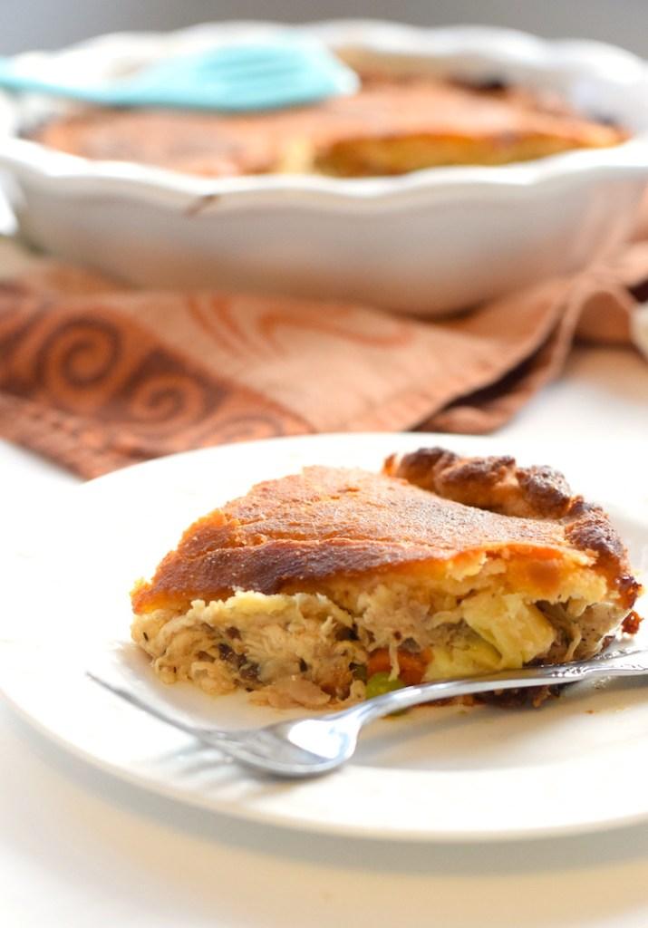 keto chicken pot pie with flaky crust recipe