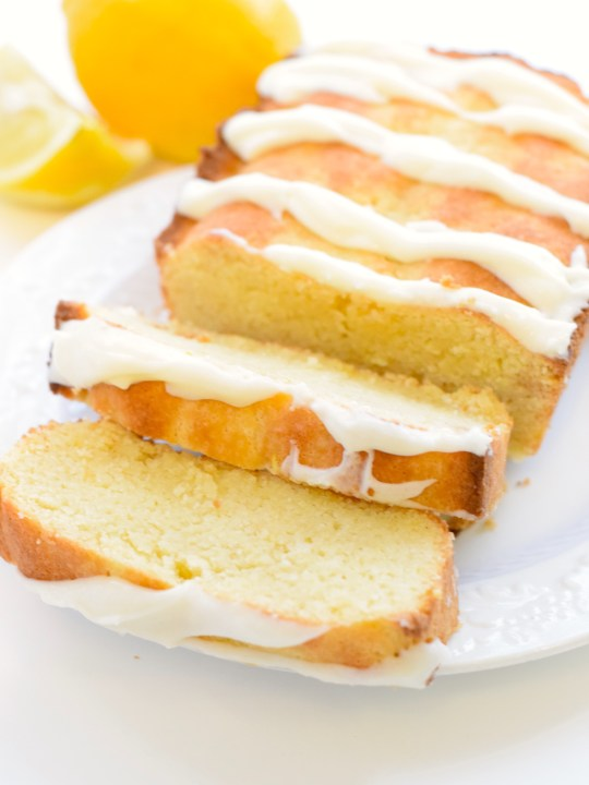 Keto Lemon Loaf