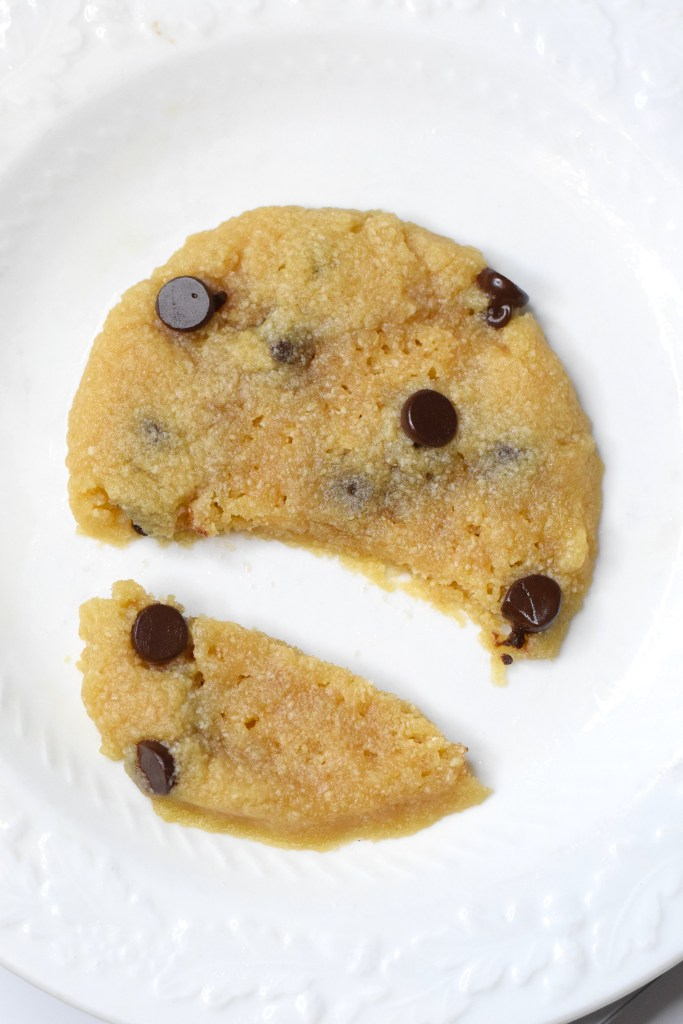 keto microwave low carb cookie