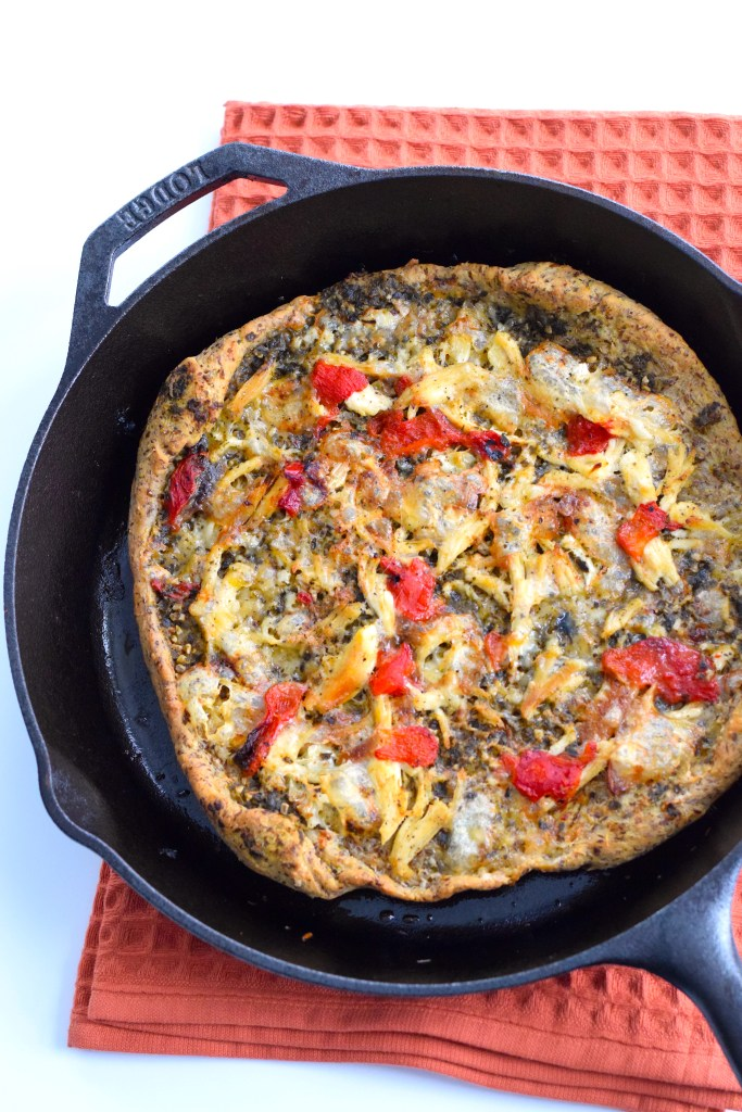 keto pizza crust with yeast