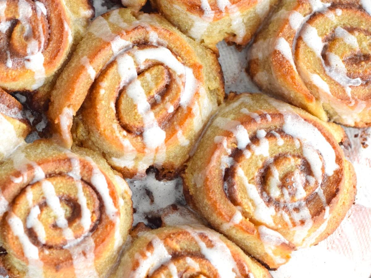 keto puff pastry cinnamon rolls