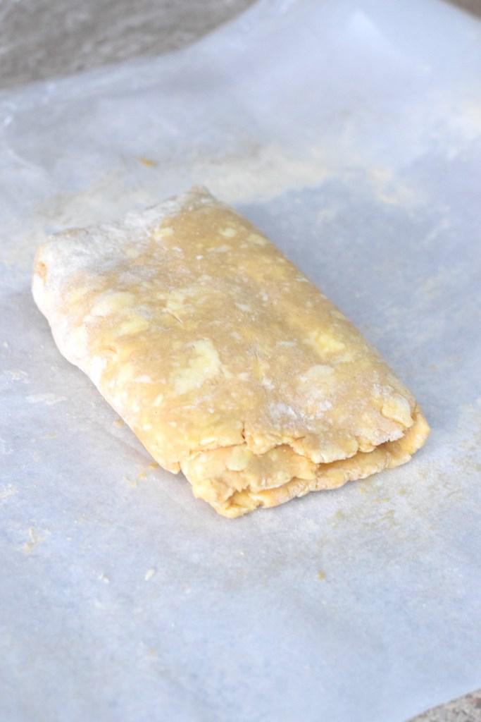 keto puff pastry dough