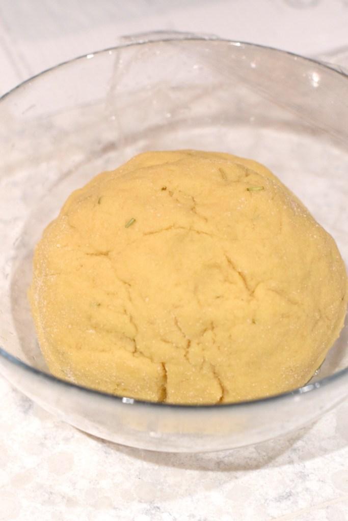 keto yeast dough rising