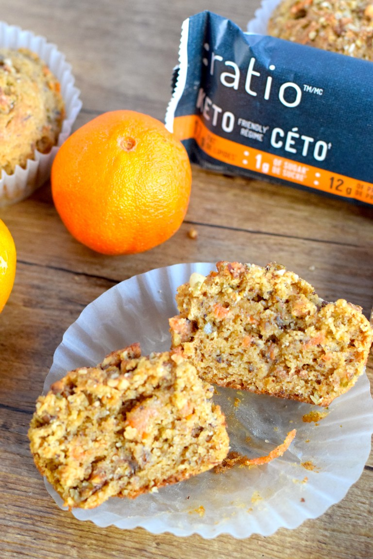low carb morning glory muffins
