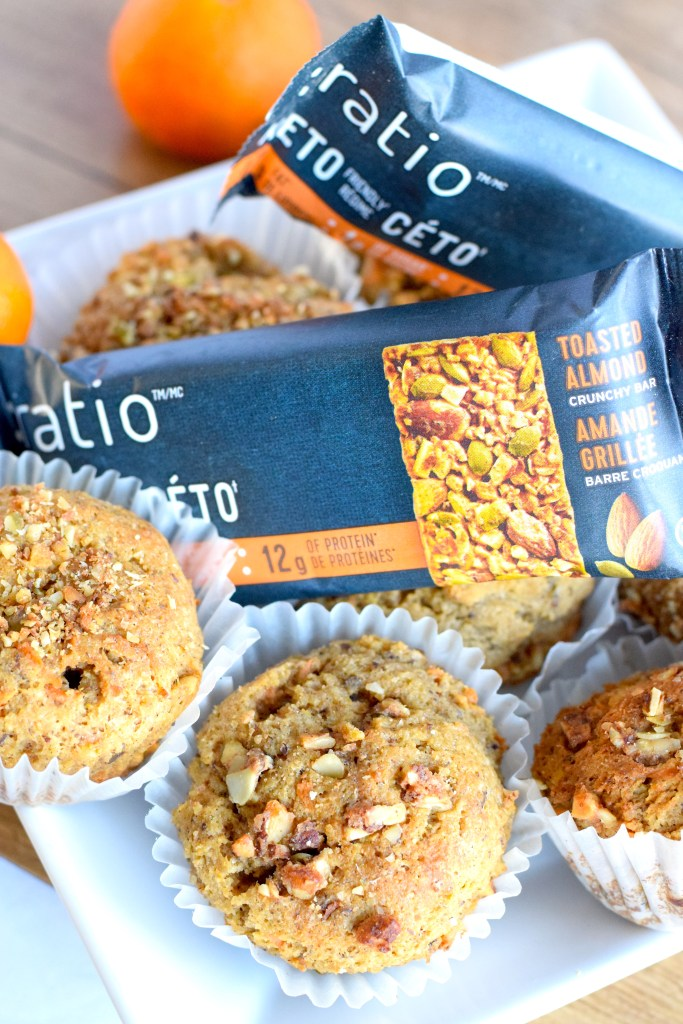 low carb streusel muffins
