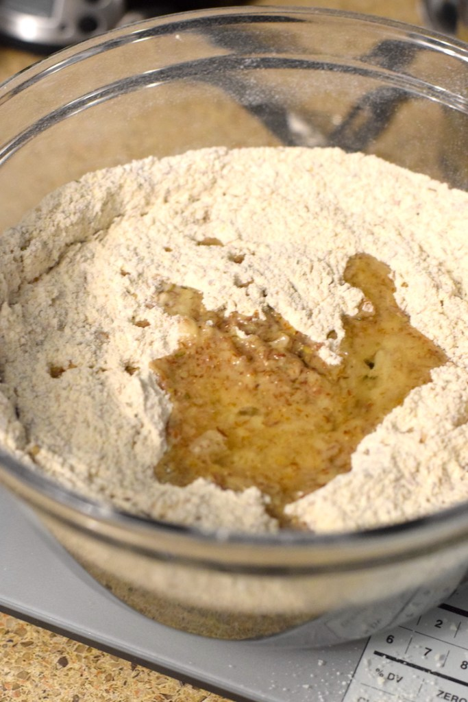 vital wheat gluten yeast flax meal