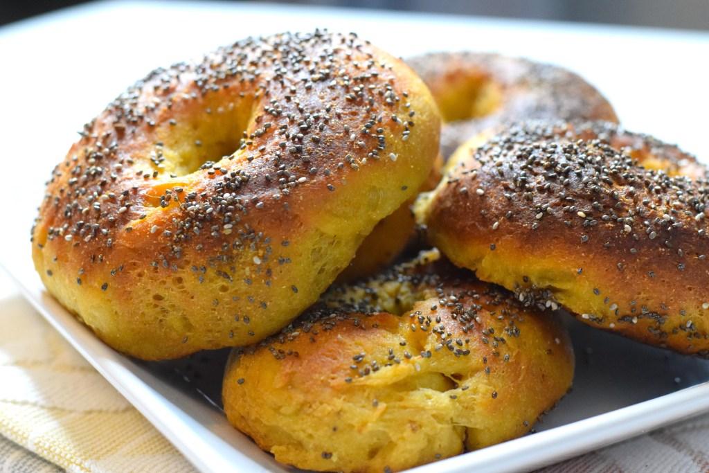 high protein bagel recipe