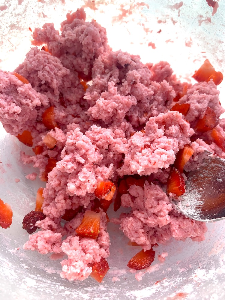 keto strawberry cream cheese filling