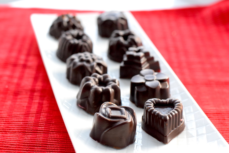 keto valentines chocolates