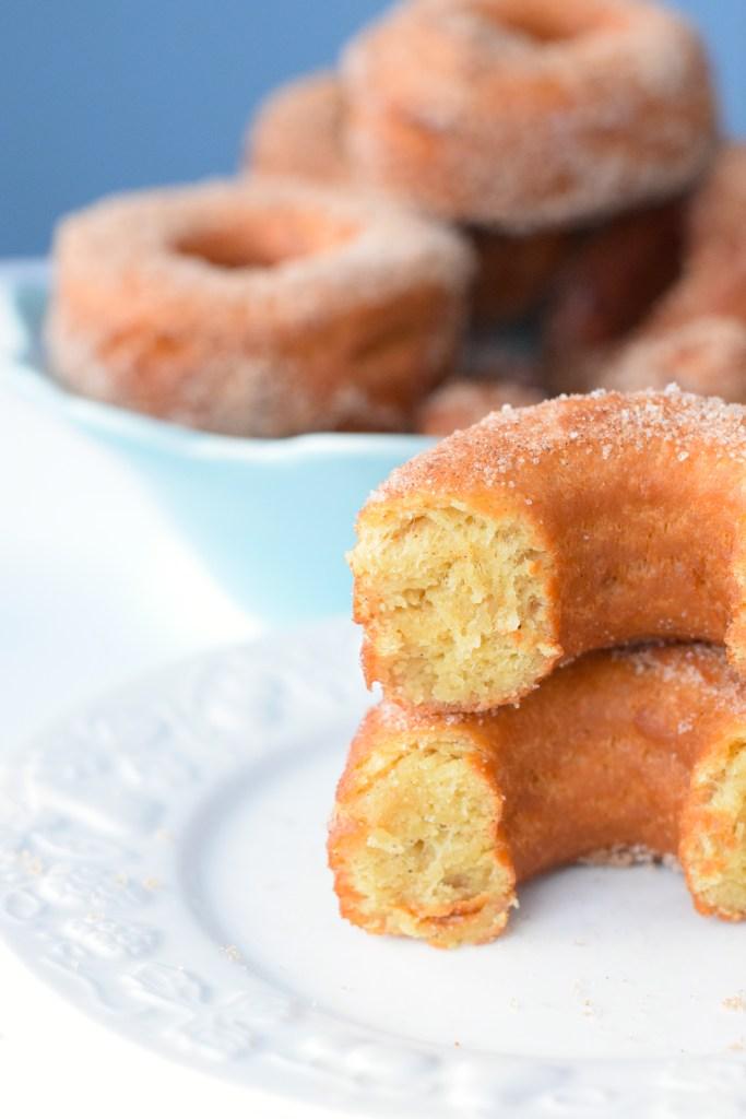low carb cinnamon donuts