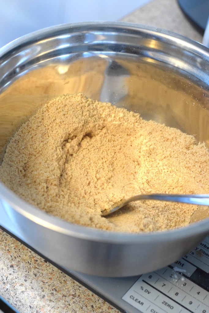 almond flour, coconut flour, cinnamon