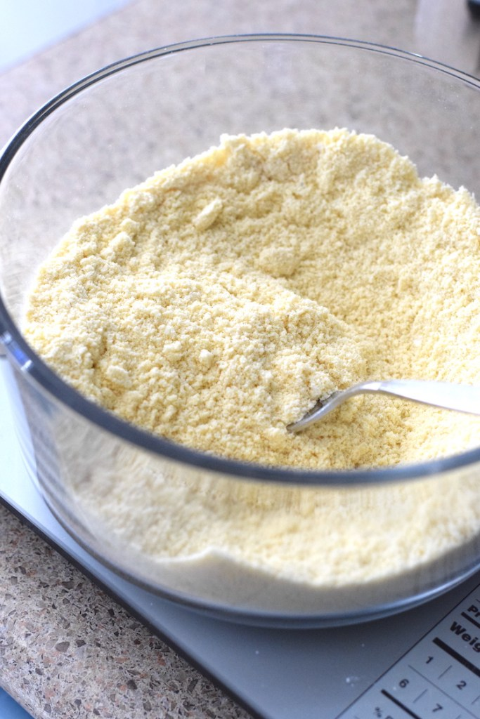 almond flour, coconut flour, lupin flour