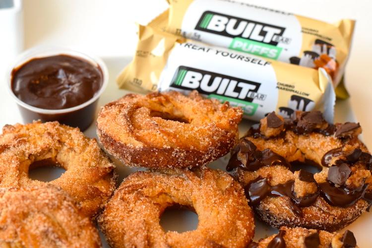 built bars churro puffs