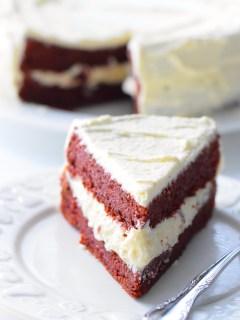coconut flour red velvet cake
