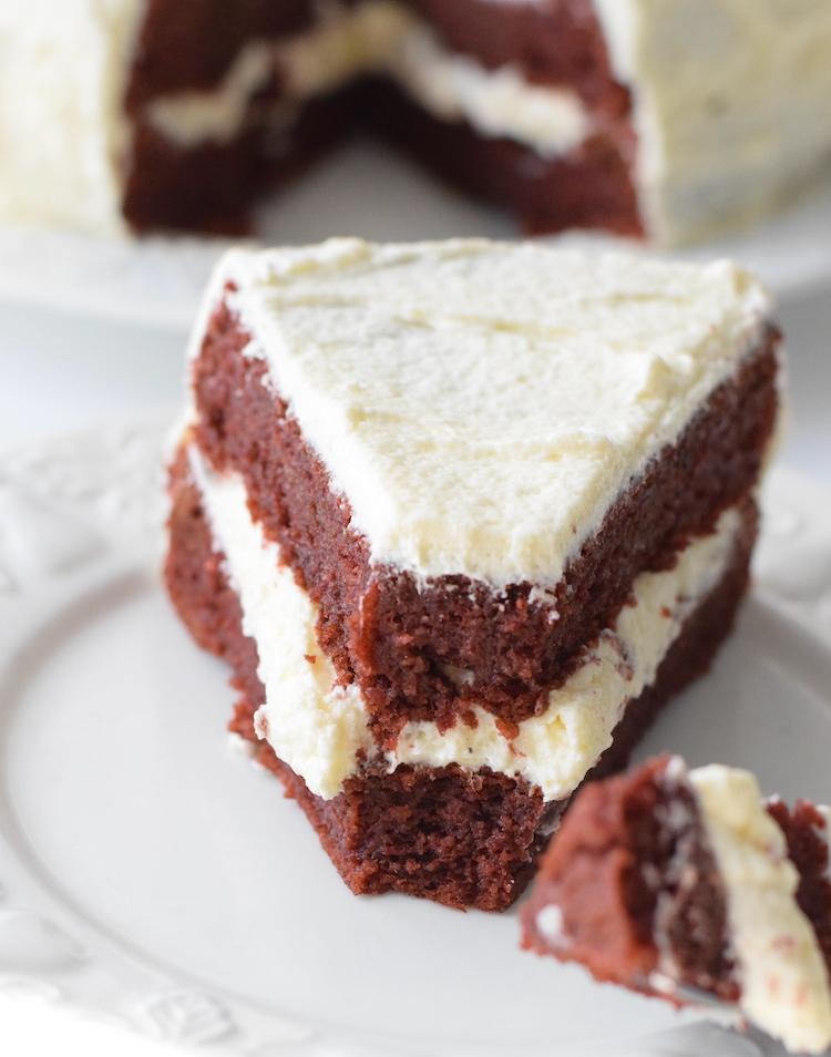 gluten free low carb red velvet cake