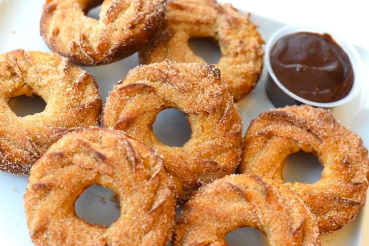 keto churro donuts