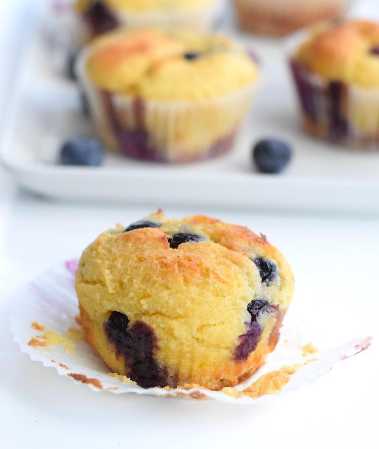 keto lemon muffin recipe