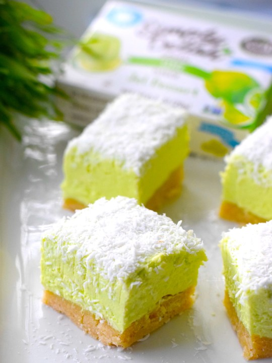 Keto No Bake Lime Cheesecake