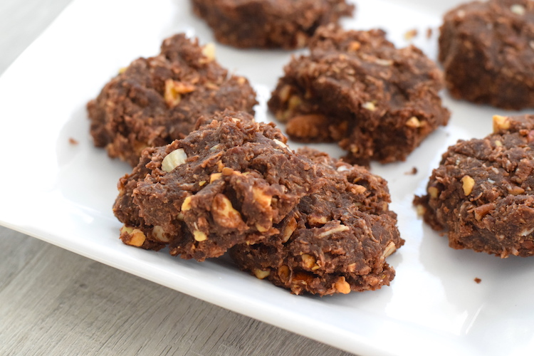 low carb no bake chocolate cookies