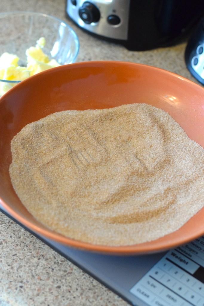 monkfruit sweetener and cinnamon