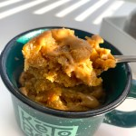 peanut butter microwave cake