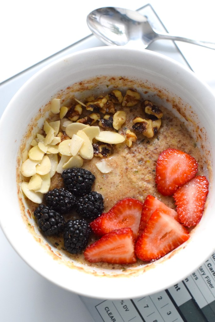 easy low carb keto oatmeal